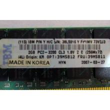 IBM 39M5811 39M5812 2Gb (2048Mb) DDR2 ECC Reg memory (Элиста)