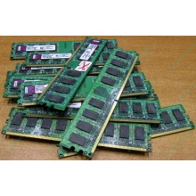 ГЛЮЧНАЯ/НЕРАБОЧАЯ память 2Gb DDR2 Kingston KVR800D2N6/2G pc2-6400 1.8V  (Элиста)