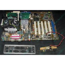 Материнская плата Asus P4PE (FireWire) с процессором Intel Pentium-4 2.4GHz s.478 и памятью 768Mb DDR1 Б/У (Элиста)